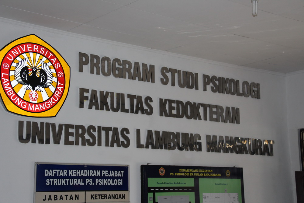 Program Studi Psikologi FK Unlam